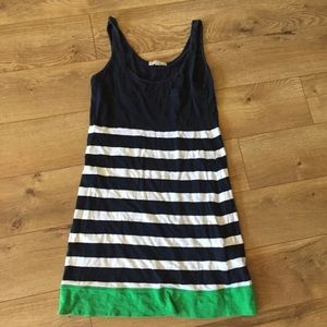 Banana Republic Striped Tank Dress